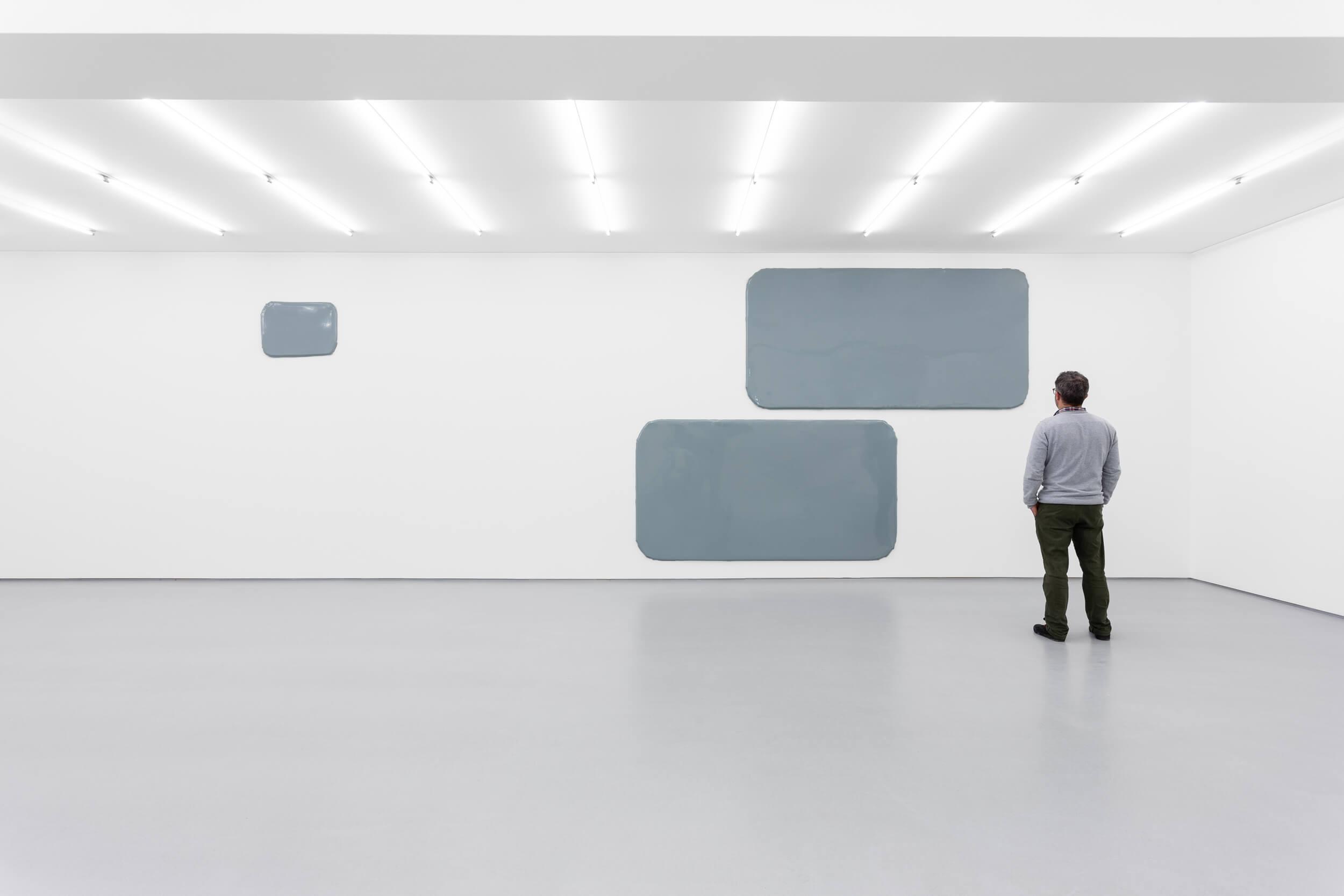 Exhibition view: Gonçalo Barreiros,então aquilo que.Galeria Vera Cortês, 2021