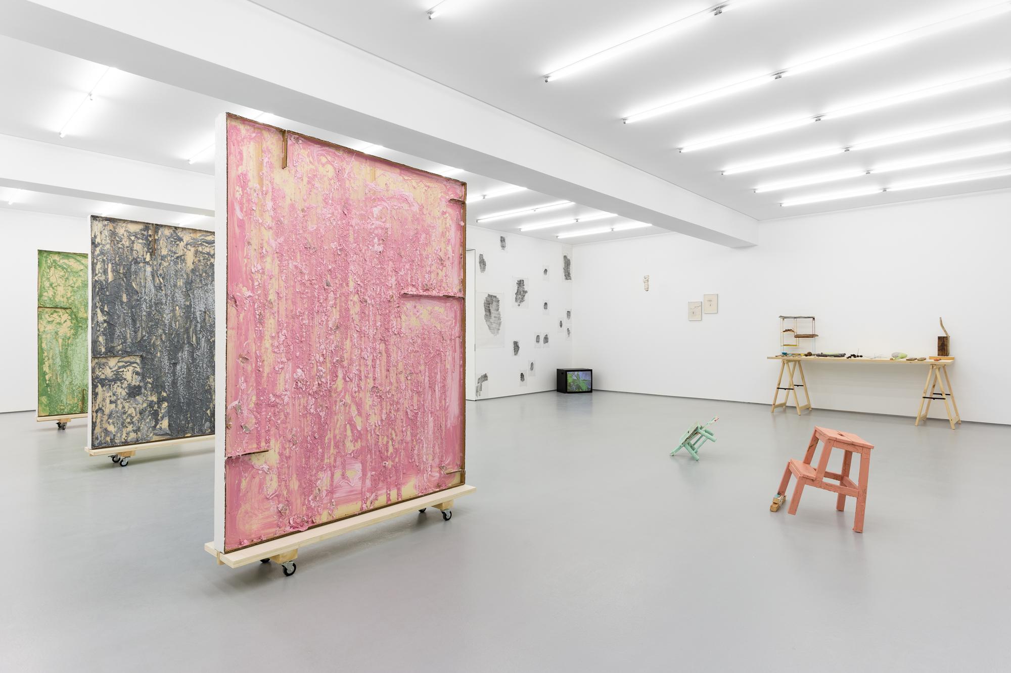 Exhibition view: Casa, Carlos Bunga, Galeria Vera Cortês, 2021